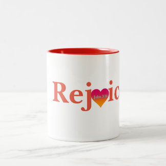 Réjouissez-vous la tasse de café