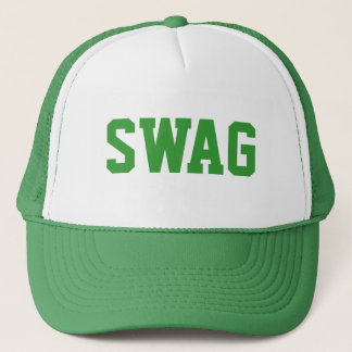 relance verte de butin casquette