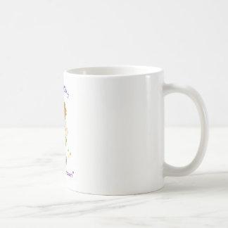 Relèvement de la tasse de café sournoise de