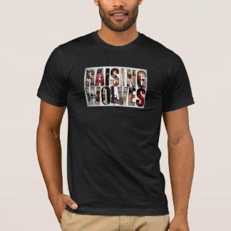 Relèvement du T-shirts interactif de loups