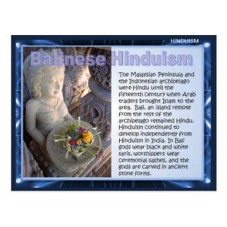 Religion, hindouisme de Balinese Carte Postale