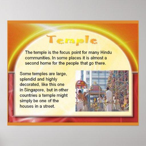 Religion, hindouisme, temple hindou posters