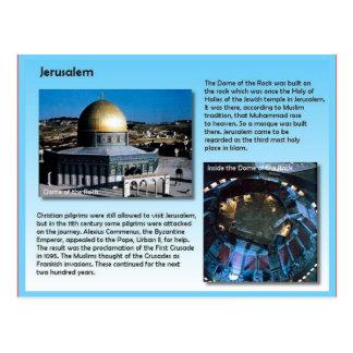 Religion, pèlerins vers Jérusalem Carte Postale
