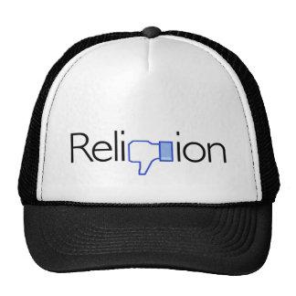 Religion ? Pouces vers le bas ! Casquettes De Camionneur