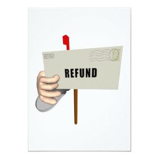 Remboursement Carton D'invitation 12,7 Cm X 17,78 Cm