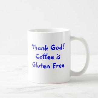 Remerciez Dieu ! Le café est gluten libre Mug