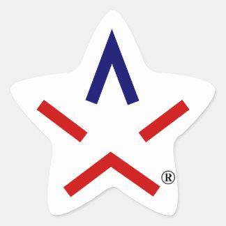 REMERCIEZ l'autocollant d'aSTARisk de TEXAS™ Sticker Étoile