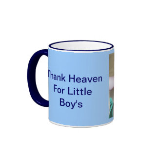 Remerciez le ciel de petits garçons tasse