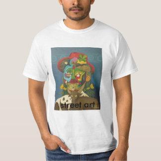 Rémige de courte douille accidentelle, avec t-shirt