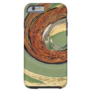 Remous 01.03-Colors de rouille/de Rost-Art Coque Tough iPhone 6