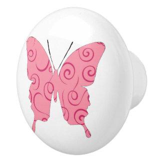 Remous attrayants de collage de papillon