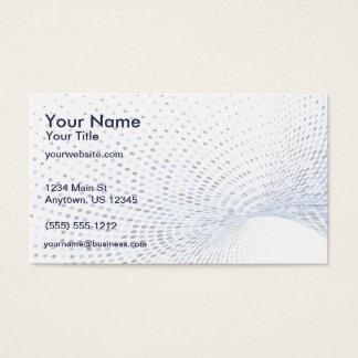 Remous bleu cartes de visite