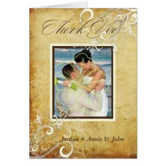 Remous de cru de PixDezines/Merci de mariage Cartes
