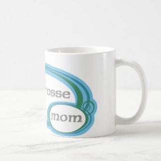 Remous de maman de lacrosse mug