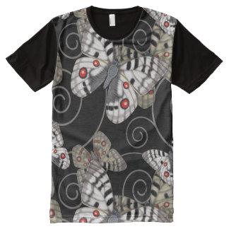 Remous de papillon d'Apollo T-shirt Tout Imprimé