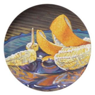 Remous de peau d'orange assiette