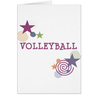 Remous de volleyball cartes