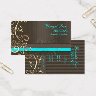 Remous d'Ornamental de PixDezines+couleurs des Cartes De Visite