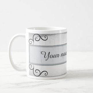 Remous élégants de noir mug