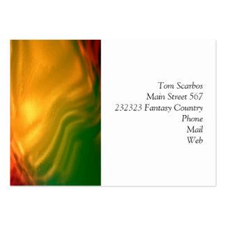 remous merveilleux des gradients 04 coloré modèles de cartes de visite