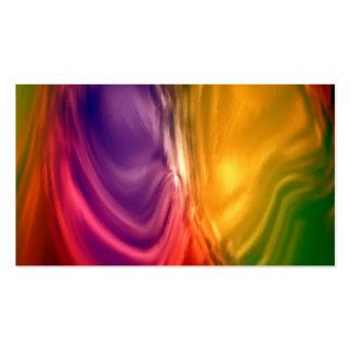remous merveilleux des gradients 04 coloré carte de visite