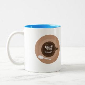 Rempli de combustible par le café et BARBRI Tasse 2 Couleurs