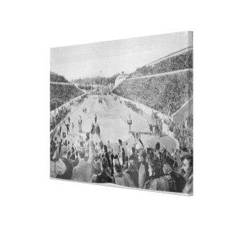 Renaissance des Jeux Olympiques à Athènes Toiles