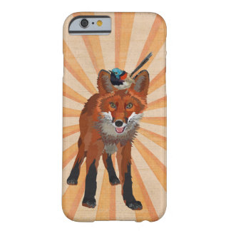 RENARD ET ROITELET COQUE iPhone 6 BARELY THERE