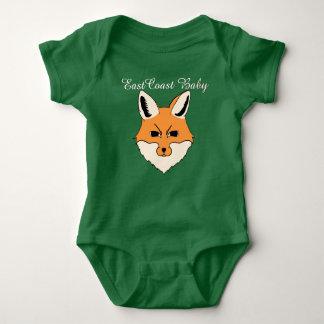 Renard mignon de bébé de Côte Est T-shirts