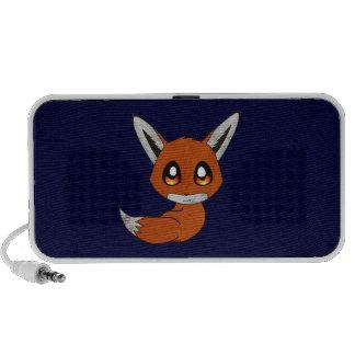 renard mignon haut-parleur iPod