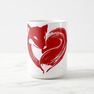 Renards d'amour - tasse