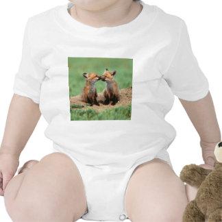 Renards rouges de bébé t-shirt