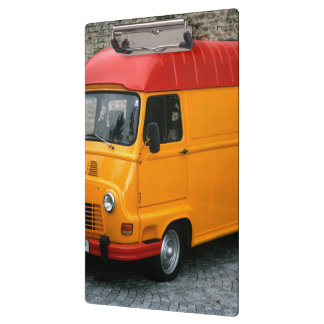 Renault Estafette orange