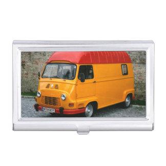 Renault Estafette orange Étui Pour Cartes De Visite
