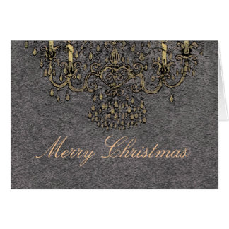 Rencontrez-moi sous la carte de Noël de ~ de