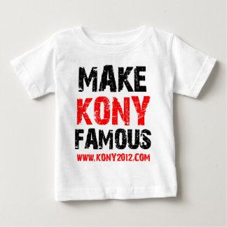 Rendez Kony célèbre - Kony 2012 T-shirt Pour Bébé