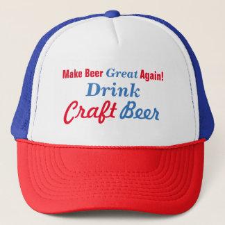 Rendez la bière grande encore casquette