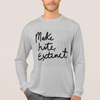 Rendez la haine éteinte t-shirt