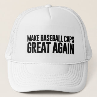 Rendez l'Amérique (et les casquettes de baseball)