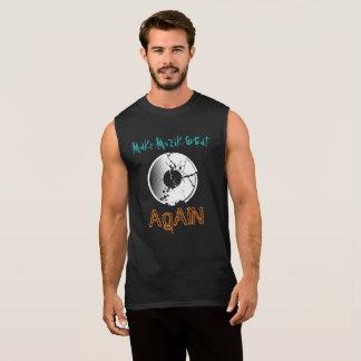 Rendez MuZiK grand encore avec le disque de T-shirt Sans Manches