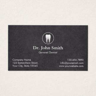 Rendez-vous dentaire de tableau simple de dentiste cartes de visite