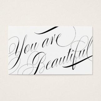 Rendez-vous élégant de styliste de beauté de cartes de visite
