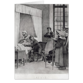Rene Theophile Hyacinthe Laennec Carte De Vœux