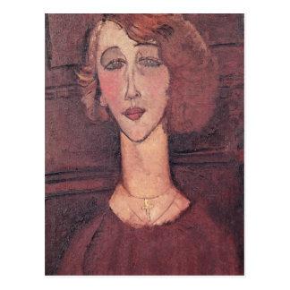 Renee, 1917 carte postale