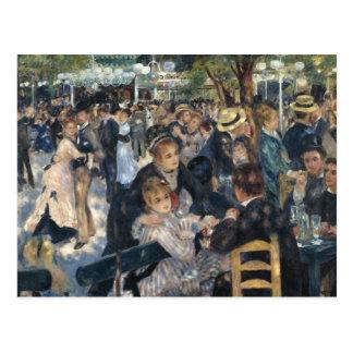 Renoir : Carte postale de Galette de La de Bal du