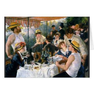 """Renoir """"déjeuner carte de canotage de partie"""""""