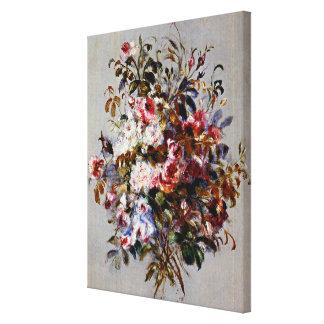 Renoir - un bouquet des roses toiles
