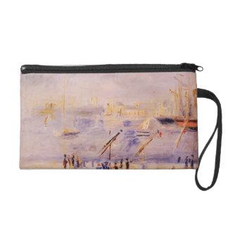 Renoir-Vieux port de Pierre de Marseille, les gens Pochette Avec Dragonne