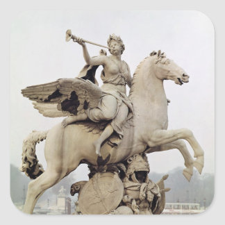 Renommée montant Pegasus 1699-1702 Autocollants Carrés
