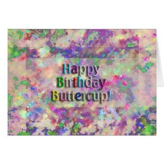 Renoncule de joyeux anniversaire ! cartes